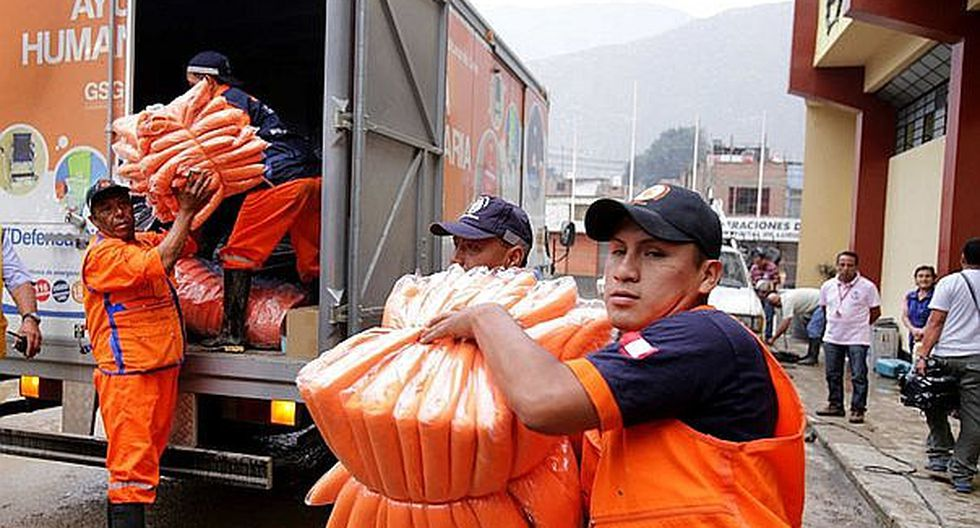 Tacna recibirá 50 toneladas más de ayuda para zonas de emergencia