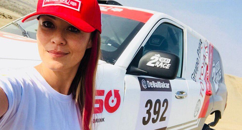 Dakar 2018: Fernanda Kanno pasa dificultades en el desierto y lucha por seguir en carrera (VIDEO)