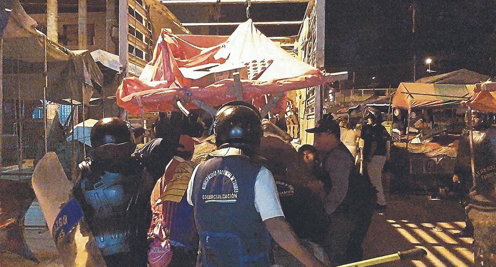 Desalojan a informales de la avenida Mariscal Castilla