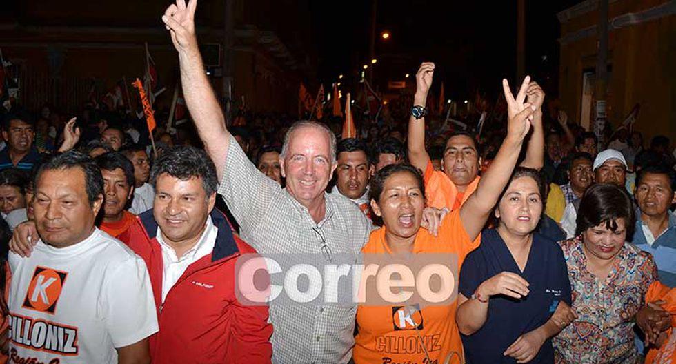 Fernando Cillóniz gana en Chincha, Pisco y Nasca