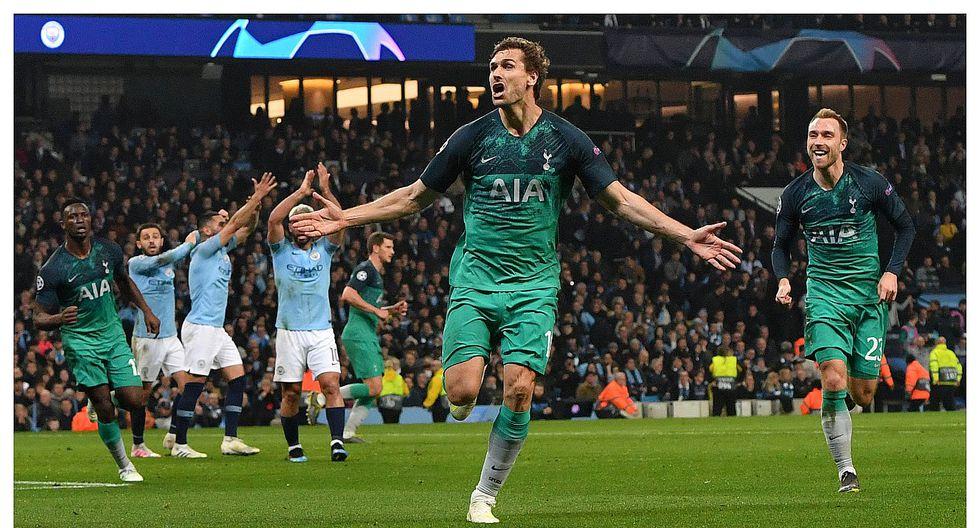 Champions League: Tottenham eliminó al Manchester City pese a caer 4-3 (VIDEO)