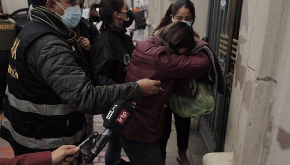 Se trata de la exvoleibolista Ana Cecilia Aróstegui Girano, quien supuestamente era la tesorera  de la ONG Donantes de Esperanza. (Foto referencial: GEC)