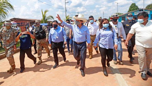 Al promediar las 8:45 a.m. el mandatario junto a una comitiva de su Gabinete Ministerial llegarán al aeropuerto internacional Capitán FAP David Abensur Rengifo. Foto: Presidencia
