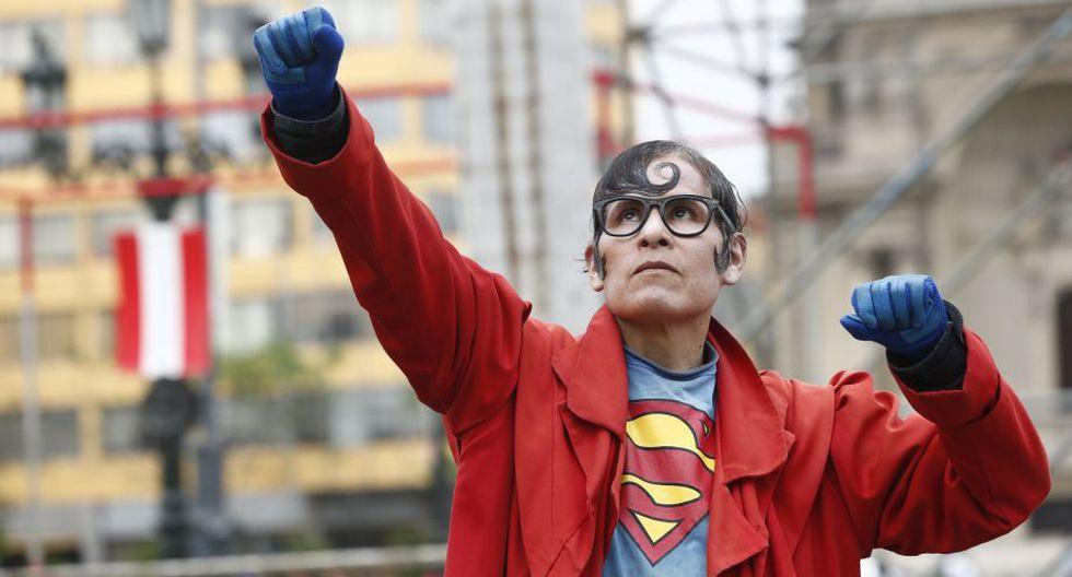 Nuestro 'Superman peruano' lucha su peor batalla (Foto: Anthony Niño de Guzmán)