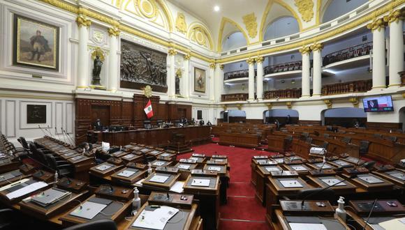 La norma fue exonerada de segunda votación con 94 congresistas a favor, uno en contra y siete abstenciones. (Foto: Congreso)