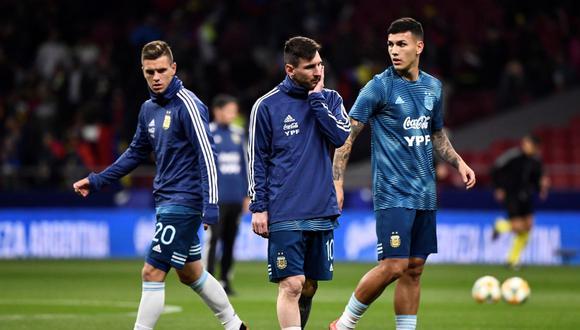 Giovani Lo Celso, Lionel Messi y Leandro Paredes serían bajas en Argentina en la próxima fecha doble de Eliminatorias. (Foto: AFP)