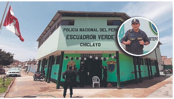 Efectivo policial laboró 8 años en el Escuadrón Verde de Chiclayo y ejemplo para nuevas generaciones.
