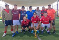 Productoras FC campeona en cuadrangular de fulbito