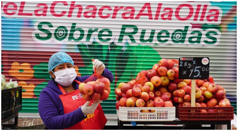Impulsan mercados saludables en el Día del Campesino en Pueblo Libre. (Fotos: Difusión)