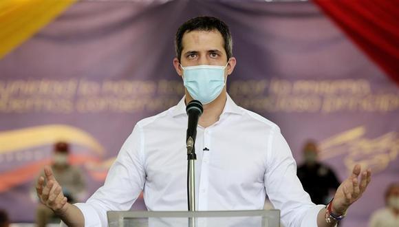 Guaidó espera que la comunidad internacional rechace el resultado de comicios. (EFE).