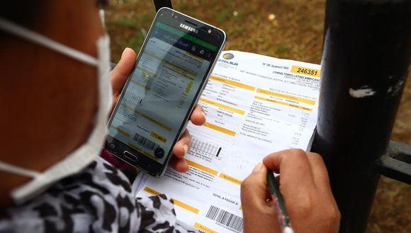 Usuarios ya pueden consultar en plataforma habilitada por Osinergmin si son beneficiarios del bono de electricidad. (Foto: GEC)