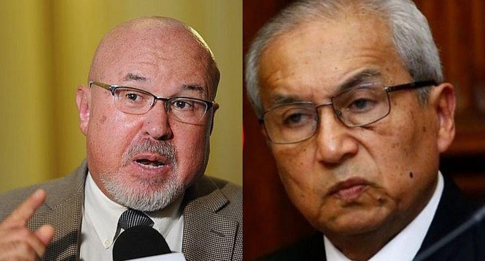"""Bruce a Pedro Chávarry por declaraciones sobre ministros: """"Recién habla cuando lo botan. Está respirando por la herida"""""""