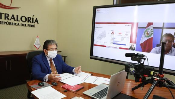 Comisión de Fiscalización aprueba proyecto para que la Contraloría imponga sanciones administrativas. (Foto: Contraloría)