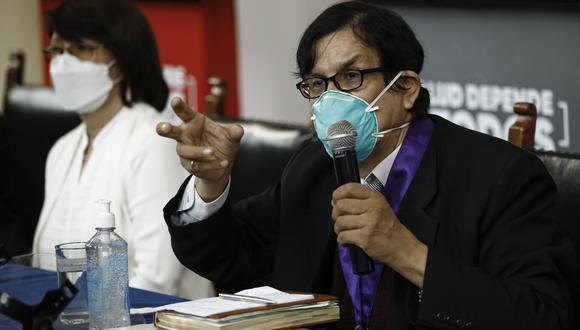 El vicedecano del Colegio Médico dio su parecer ante el caso de voluntaria fallecida. (Foto: Joel Alonzo/Archivo GEC)