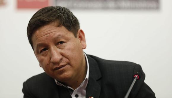 Guido Bellido se pronunció sobre los acuerdos de la Asamblea de Perú Libre. (Foto: José Rojas Bashe/GEC)