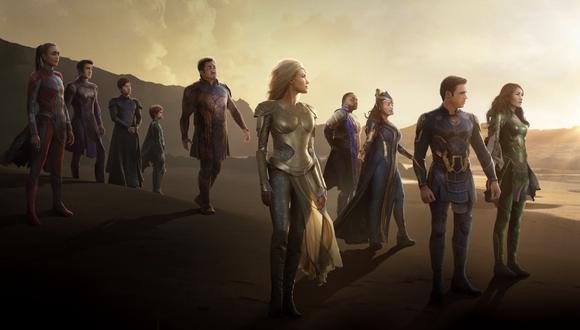 """La película """"Eternals"""" se estrena este 28 de octubre. (Foto: Marvel Studios)"""