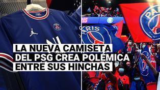 PSG: el club francés presentó nueva camiseta y sus hinchas llaman a boicot