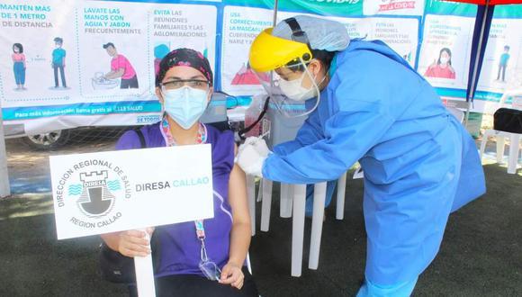 Este 4 de marzo se aplicará la segunda dosis de la vacuna en el Callao. (Foto: Diresa Callao)