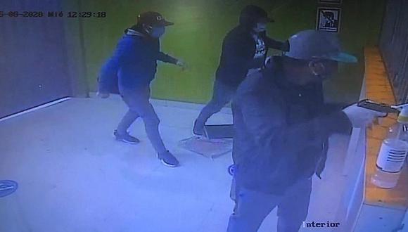 Cusco: delincuentes armados asaltan casa de cambios y se llevan 50 mil soles