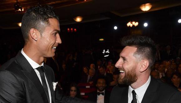 Luis Enrique llenó de elogios a Cristiano Ronaldo y Lionel Messi. (Foto: AFP)