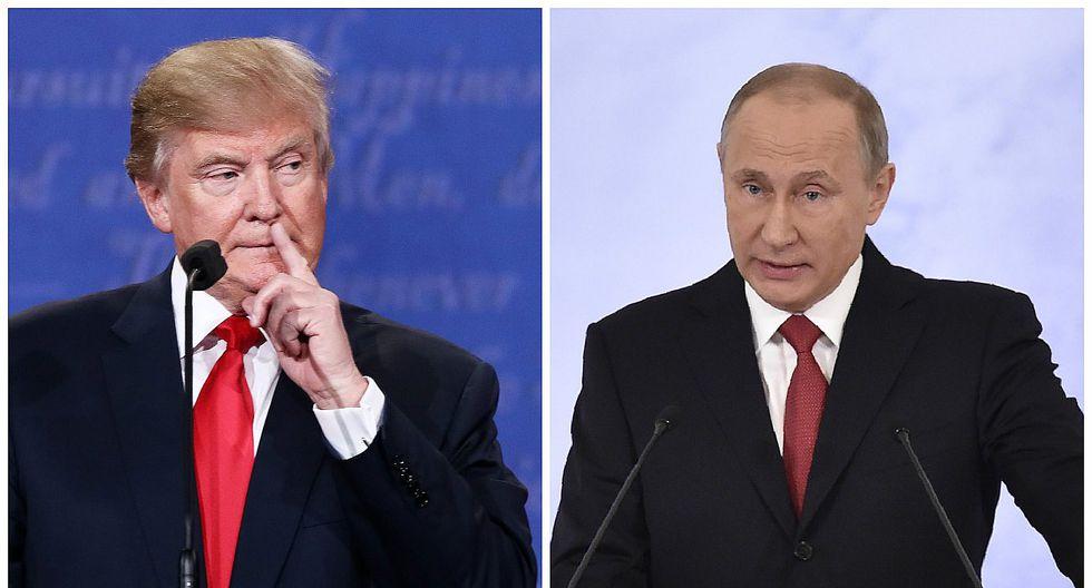 Vladimir Putin está dispuesto a cooperar con Donald Trump en la lucha contra el terrorismo
