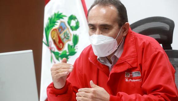 Carlos Estremadoyro renunció ayer al cargo de ministro de Transportes y Comunicaciones. (Foto: MTC)