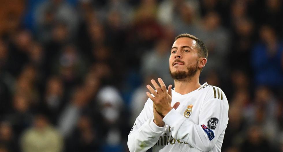 Thibaut Courtois habló sobre la situación de Eden Hazard en Real Madrid