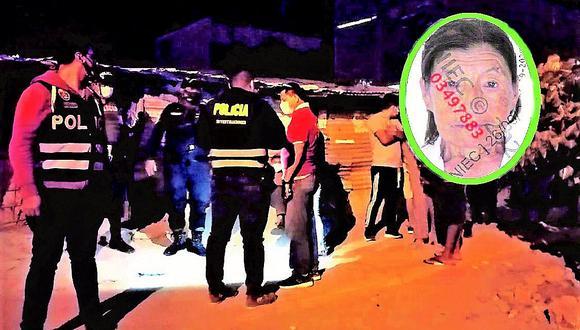 Matan a golpes a una anciana en Piura