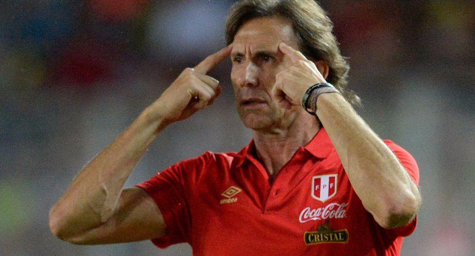 """Ricardo Gareca: """"Todos los jugadores han respondido, Perú no es un equipo de estrellas"""""""