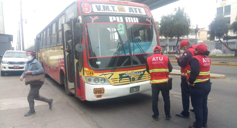 La Municipalidad de Surco informó que junto a los inspectores de la Autoridad de Transporte Urbano para Lima y Callao (ATU) realizó esta mañana una operación en el distrito.