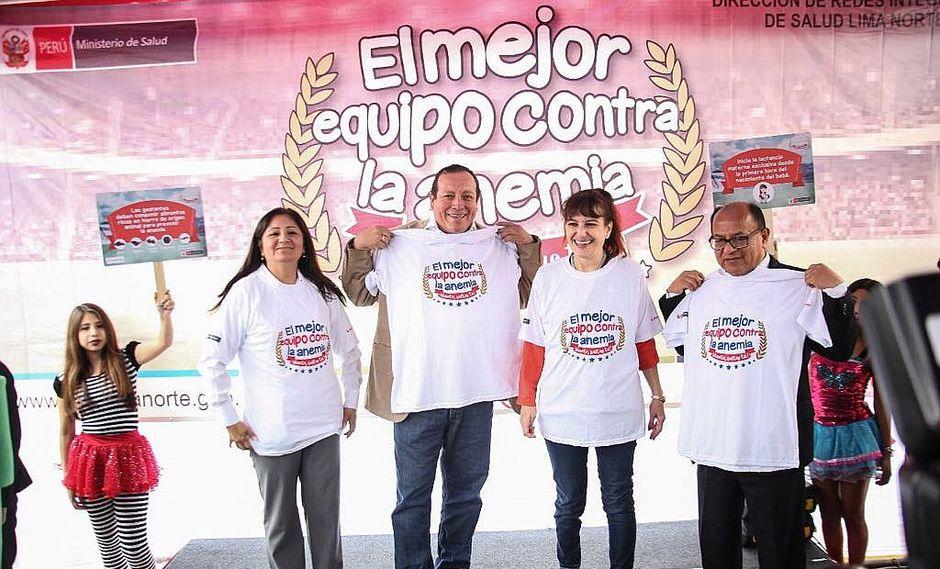 Salud: Jornada Nacional contra la Anemia llegó a Comas