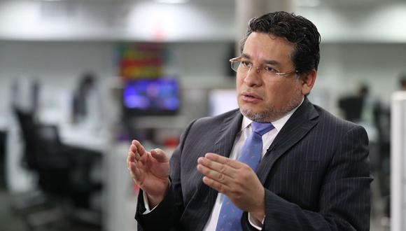 Rubén Vargas comentó sobre la designación de Naldos Blanco en el Mininter (Foto: GEC)