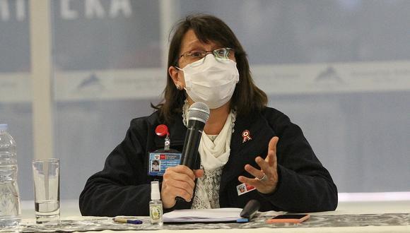 Pilar Mazzetti, pidió este miércoles a todos los padres de familia que sean responsables y no salgan con sus niños a propósito de la celebración de Halloween