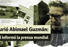 Abimael Guzmán: así reaccionó la prensa extranjera tras la muerte del cabecilla de Sendero Luminoso