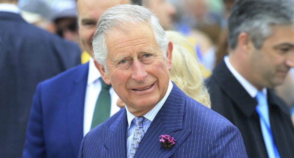 El príncipe Carlos dio positivo por coronavirus. AFP