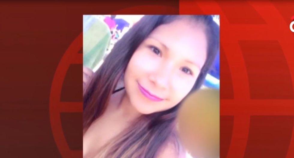 Nataly Susana Romero Velásquez fue herida de bala en la cabeza cuando retornaba a su vivienda en SJM. (Captura: América Noticias)