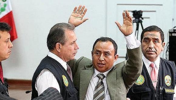 """""""Goyo"""" Santos apeló ampliación de prisión preventiva"""