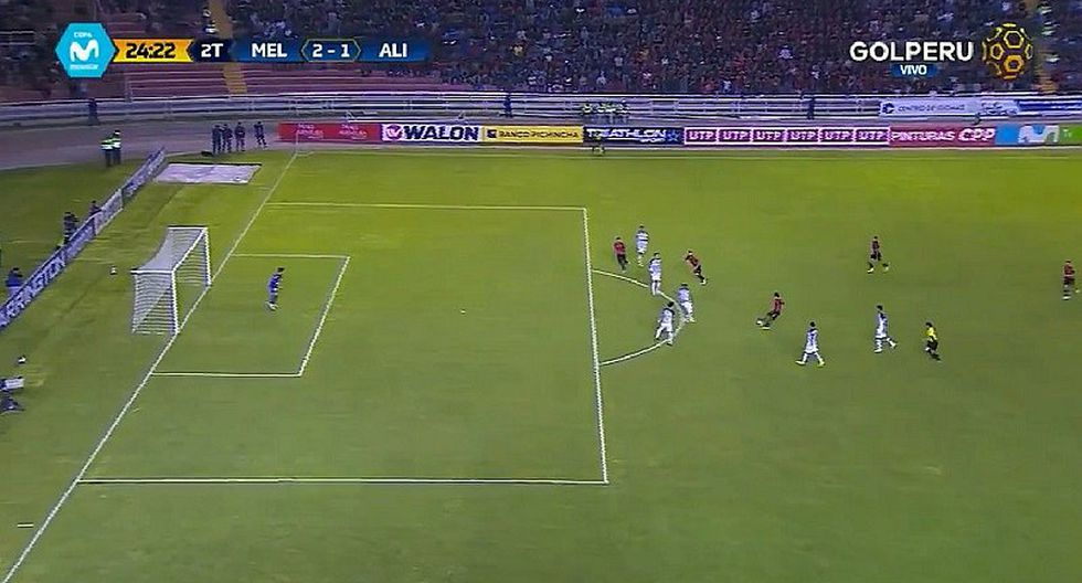 Alianza Lima vs. Melgar: el gol de Christofer Gonzales que el árbrito no cobró (VIDEO)
