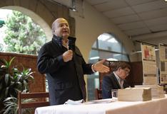 """Hernando de Soto: """"Yo fui la víctima más importante de Sendero Luminoso"""""""