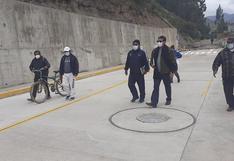 Obra no es inaugurada y ya presenta deficiencias en Huancavelica