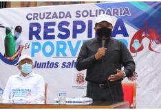 """La Libertad: Lanzan cruzada """"Respira El Porvenir"""" para adquirir planta de oxígeno"""