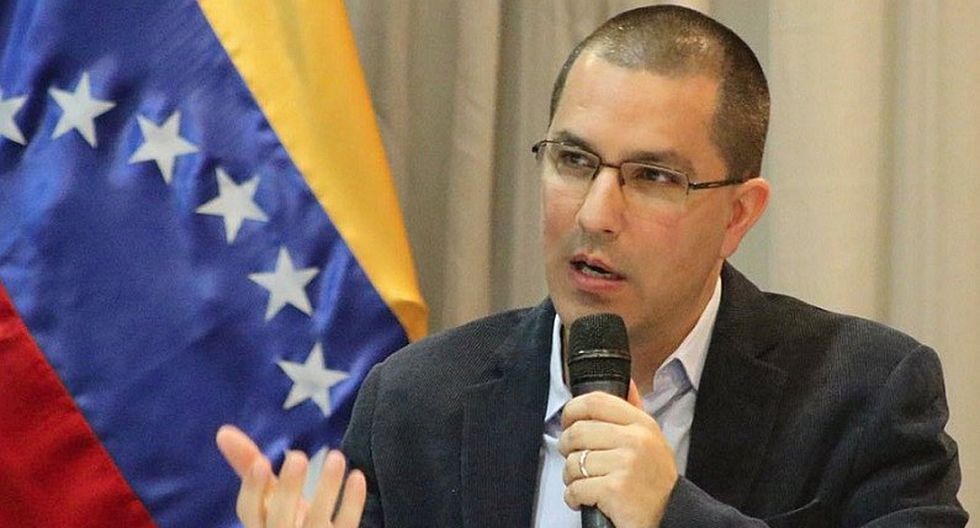 Canciller venezolano Jorge Arreaza niega que exista más de 4 millones de emigrantes de su país