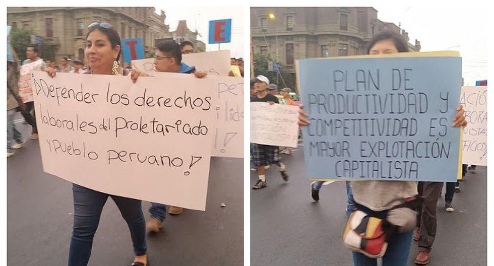 Denuncian infiltración de Sendero Luminoso en sindicatos del país (FOTOS y VIDEO)