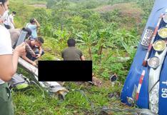 Tres personas fallecen en bus que se despistó en Ucayali (VIDEO)