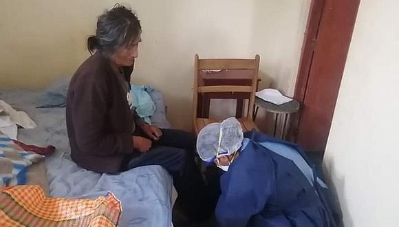 Abandonan a mujer en Hospital Apoyo de Palpa