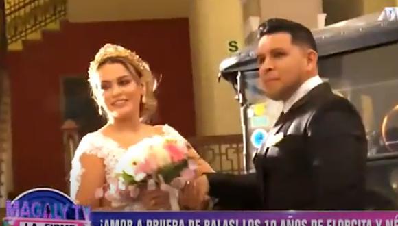 El matrimonio religioso entre ambos sigue siendo un anhelo para ellos (Magaly TV La Firme)