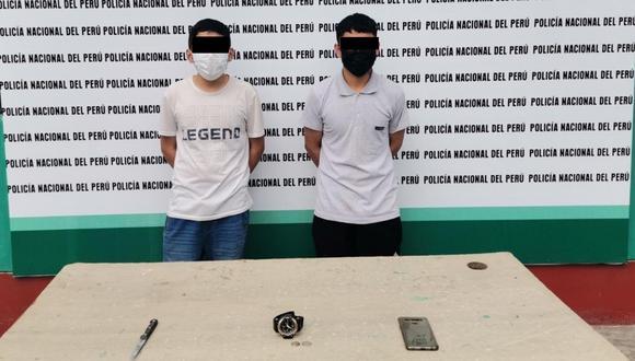 """Según la Policía Nacional del Perú serían presuntos integrantes de """"Los Malditos del Alto Trujillo"""". (Foto: PNP)"""