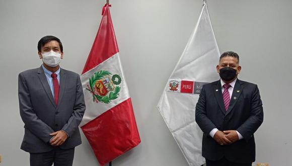 Congresista Ricardo Medina ya tuvo una reunión con el ministro de educación. (Foto: Difusión)