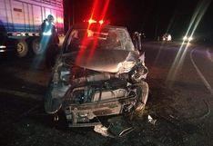 Accidente de tránsito en la vía Juliaca - Calapuja