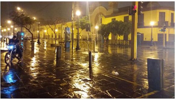 Inusual lluvia sorprende en Lima a pocas semanas de iniciar el verano (FOTO)